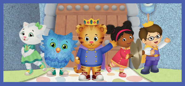 Daniel Tiger\'s Neighborhood Live! King for a Day | Veterans Memorial ...